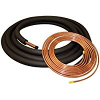 3/8x7/8x50 Insulated Copper Lineset Air Conditioner or Heat Pump