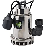 ECO-FLO Products SEP75W Stainless Steel Waterfall Fountain Pump, 3/4 HP, 3,300 GPH