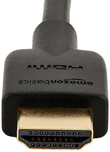 AmazonBasics High-Speed HDMI CL3 Cable - 6 Feet Latest Standard