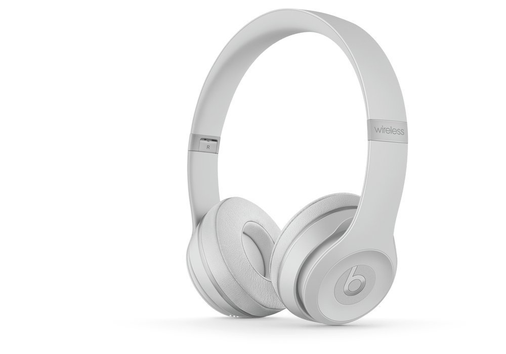 Beats Solo3 Wireless On-Ear Headphones - Matte Silver (Renewed)