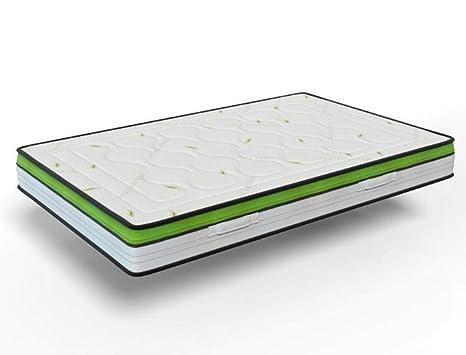 elalmacendelcolchon Colchón viscoelástico Reversible, antifatiga, Modelo CELLIANT Energy, 135 x 190 x 28cm