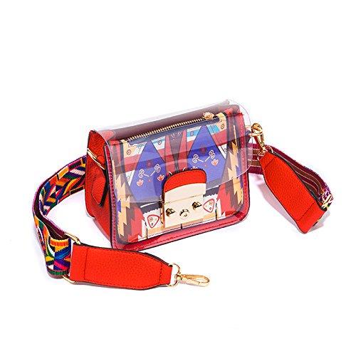 Sac Documents Avec Un Stamp Petit Le KLXEB rouge Sac Téléphone Petit Sac Parti De Le Emballage Sac De Femme Un Paquet qB77XUw