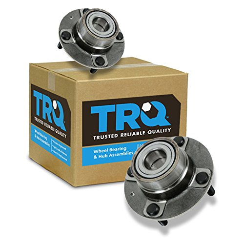 TRQ Wheel Bearing & Hub Assembly Rear Pair Set for Elantra Spectra Spectra5