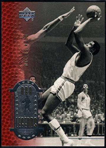 1999-00 (2000) Upper Deck Legends Basketball #37 Willis Reed New York Knicks Official UD NBA Trading Card