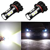 led 5202 fog lights 8000k - Alla Lighting Super Bright PS19W 12085 PS24W 5201 5202 LED Bulb 6000K Xenon White High Power 50W CREE PS24W 5202 LED for 5202 Fog Light Bulbs Lamps Bulbs Replacement(Set of 2)