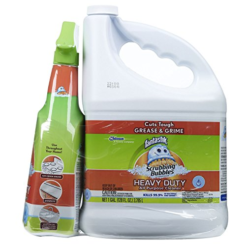 2 Piece Trigger - Fantastik Heavy Duty All Purpose Cleaner, One Gal and One 32 oz., 2 Piece
