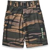 Dakine Kid's Pace Bike Shorts, Field Camo, 6