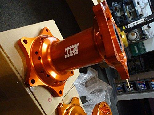 TCR Front & Rear Set Wheel Hubs KTM Orange 125 250 300 350 450 525 SX SXF 07-16 by TCR (Image #1)