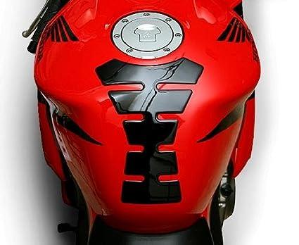 I5 Black Tank Pad For Honda Cbr600rr Cbr1000rr Cbr 600rr 1000rr F3 F4i Rr Kawasaki Ninja 250 300 500 Zx6r Zx10r Suzuki Gsxr600 Gsxr750 Gsxr1000 Gsxr