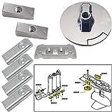 Tecnoseal Anode Kit w/Hardware - Mercury Verado 6 - Zinc