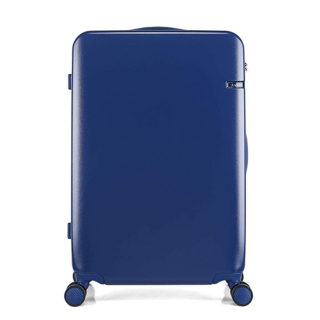 FRF トロリーケース- 男女の普遍的な車輪のトロリー箱、学生の荷物ロックボックス20/24インチ (色 : 青, サイズ さいず : 20in) 20in 青 B07QYHF1FK