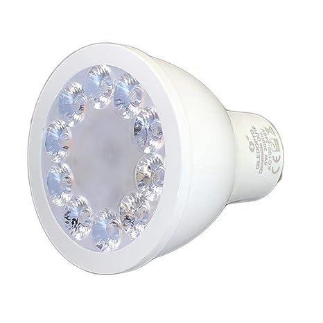 LED GU10 Spot bombilla zigbee compatible de 230 V Blanco Cálido Blanco Frío (CCT)