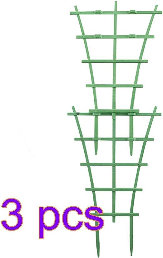 VKTY Enrejado de jardín para Plantas trepadoras, 4 enrejados de plástico para Plantas trepadoras de jardinería, para Plantas trepadoras: Amazon.es: Jardín
