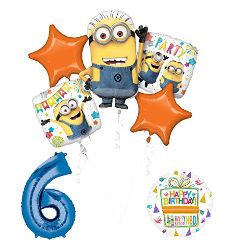 Mayflower Products Despicable Me 3 Minions 6th Birthday