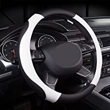 Leather Steering Wheel Cover Universal 38 cm Genuine Leather Steering Wheel Cover