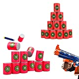 EVA Soft Bullet Target for NERF N-Strike Blasters Pack of 12pcs