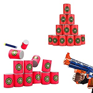 UWANTME-EVA-Soft-Bullet-Target-for-NERF-N-Strike-Blasters