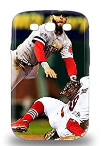 Galaxy Tpu Phone Case With Fashionable Look For Galaxy S3 MLB Boston Red Sox Dustin Pedroia #15