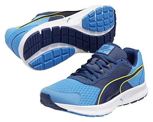 Descendant Poseidon de Homme Bleu Chaussures Puma Sulphur Running Cloisonn Entrainement Spring V3 AqaTUd