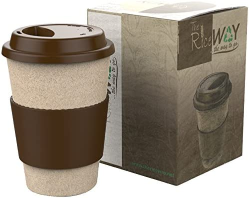 Eco Travel Mug * Taza de café y Té * Reutilizable Biodegradable ...