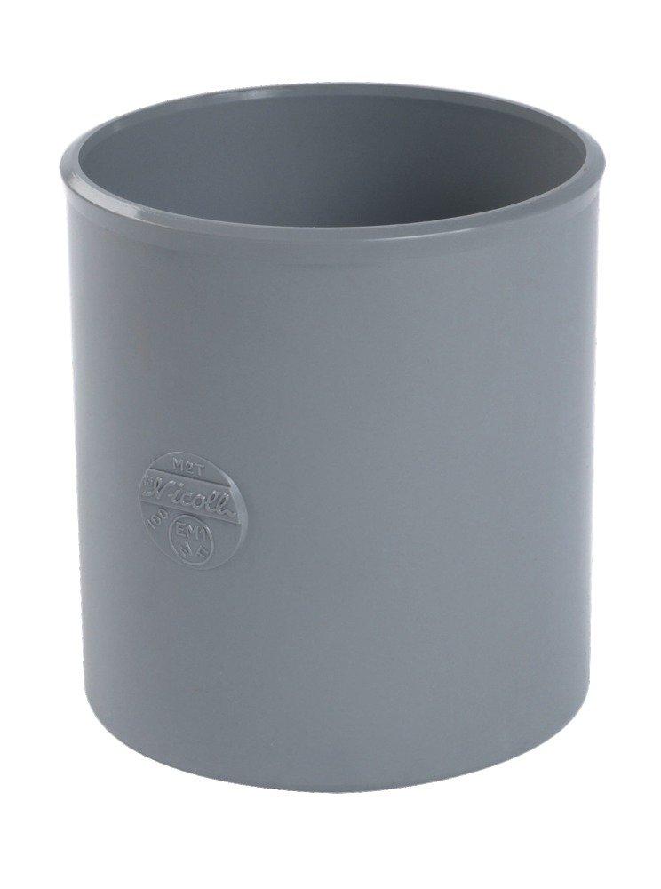 manchon pvc - femelle / femelle - diamè tre 40 mm - nicoll m2h