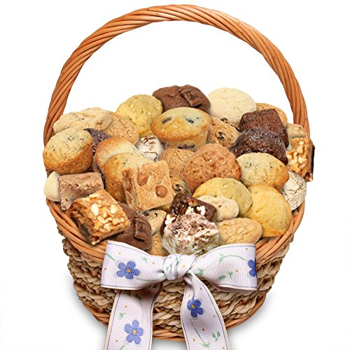 - Simply Scrumptous Dozens of Delights Muffins, Brownies & Cookie Snacker Gift Basket
