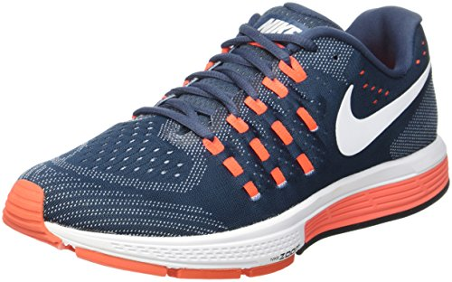 Nike Mens Air Zoom Vomero 11 Running Shoes Navy Blue