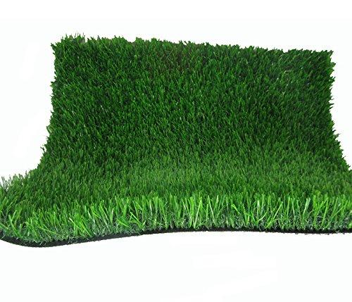 Indoor / Outdoor Green Artificial Grass a Natural Lawn La...