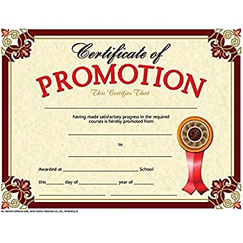 amazoncom promotion certificate set of 30 academic