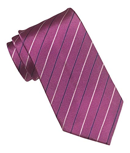 Hugo Boss Purple Striped Tie