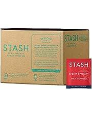 Stash Tea English Breakfast Black Tea, Box of 100 Tea Bags