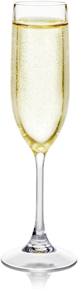 Fake Champagne in Flute - Great for Home Staging - Gift for Champagne Lovers - Fake Drink