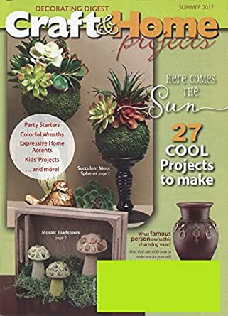 Decorating Digest Craft Home Magazine