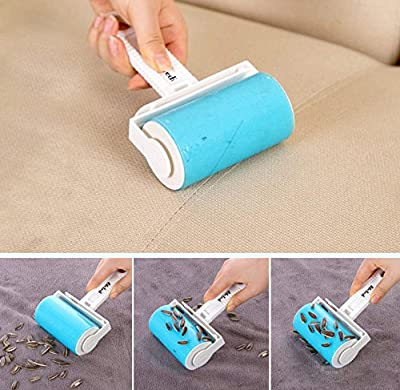 iLifeTech Reusable Sticky Picker Set Cleaner Lint Roller Pet Hair Remover Brush by iLifeTech