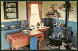 upper canada kitchen - Upper Canada Village Kitchen of the Doctor's Office Morrisburg Ontario Vintage Postcard