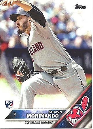 Shawn Morimando Rookie Card Collectible Baseball Card