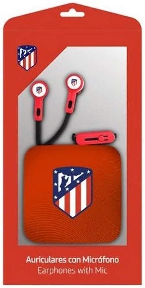 Seva Import Auricular Boton AT.MADRID Hombre