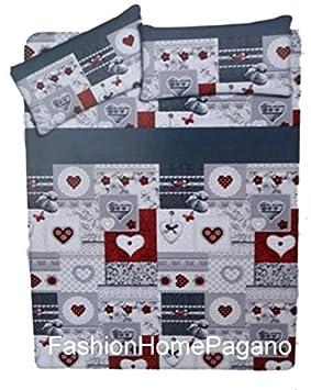 fashionhomepagano Toallas Pierre Cardin 3 Viso 3 Invitados Esponja Art.Cleofe - Love Assort B: Amazon.es: Hogar