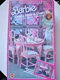 Sweet Roses: Vintage Barbie Dining Table and Chairs (Over 30 Accessories)