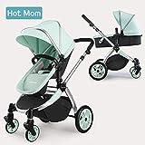 Hot Mom Multi Kinderwagen Kombikinderwagen 2 in 1 mit Buggy 2018 neues Design