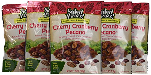 Salad Pizazz Salad Toppings, Cherry Cranberry Pecano, 3.75-Ounce (Pack of 12)