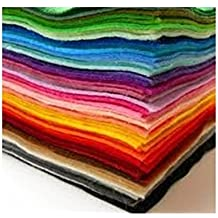 Edukit Acrylic Felt Jumbo Pack - 60 Sheets - 8.3 x 11.7 Inch - 15 Assorted Colours