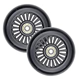 VOKUL 2pcs 100mm Pro Scooter Wheels Replacement Complete for S1 S2 Scooter,Razor Scooter and All freestyle Pro Scooters with 100mm Wheels