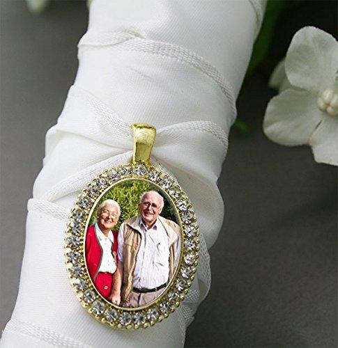 Bridal Wedding Bouquet Photo Rhinestone product image