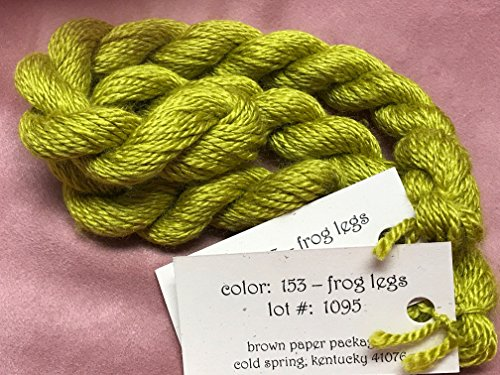 SILK & IVORY- FROG LEGS-153- 1 SKEINS WITH THIS LISTING