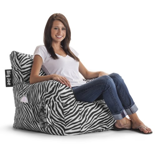 Big Joe Dorm Chair, Zebra