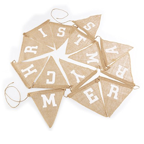 Tinksky CHRISTMAS Christmas Decoration Bunting 14pcs