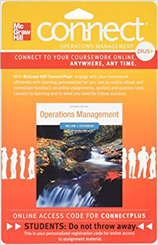 Connect plus om 1 sem access card for operations management 11e connect plus om 1 sem access card for operations management 11e 11th edition fandeluxe Image collections
