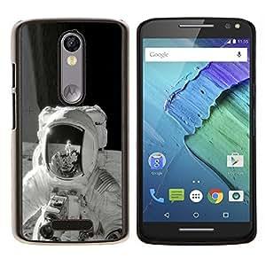 Stuss Case / Funda Carcasa protectora - Retro de la luna - Motorola Moto X3 3rd Generation