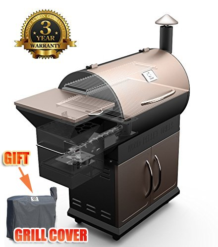 outdoor wood grill - 6